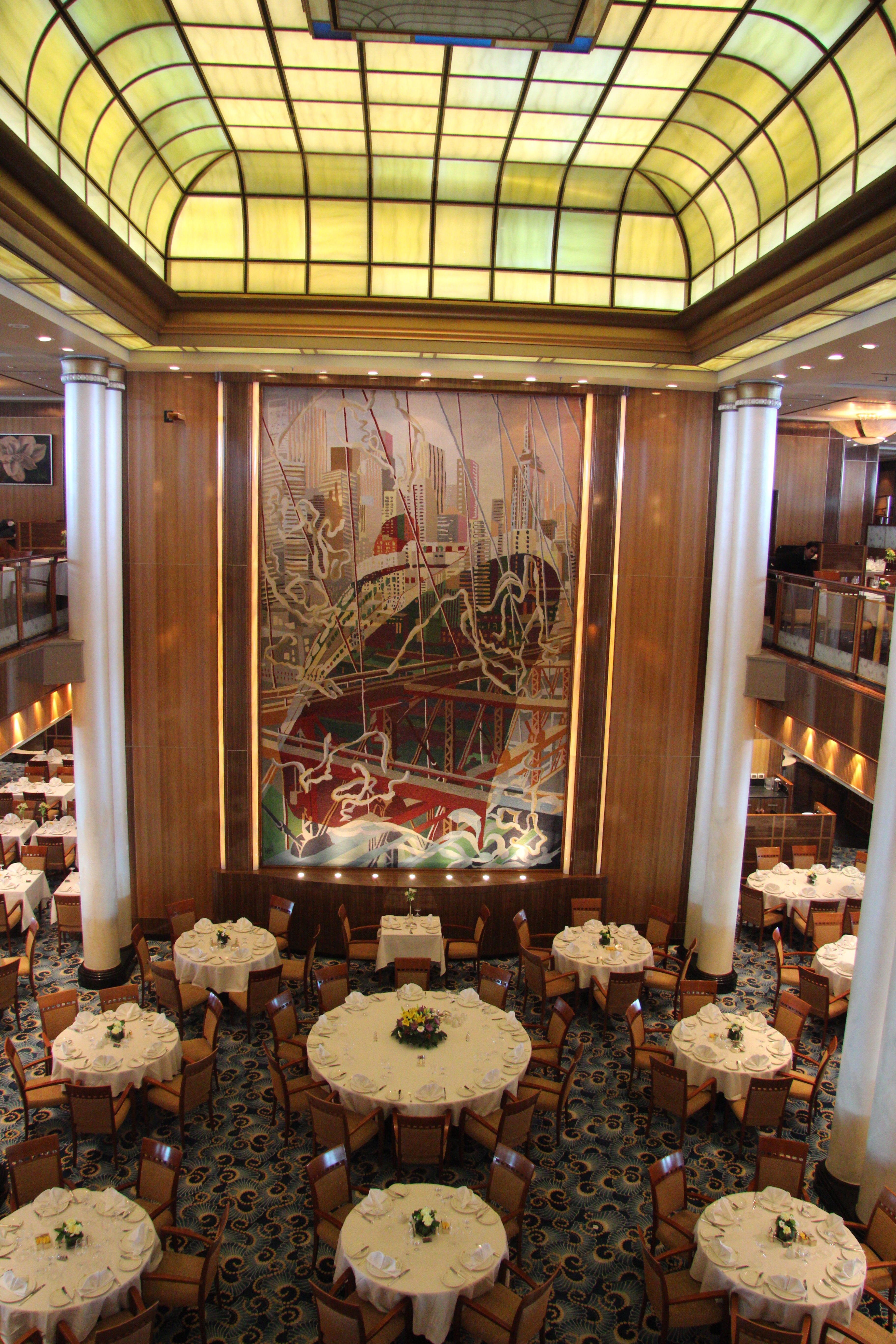 New York Mit Der Queen Mary 2, Queen Mary 2 Dining Room